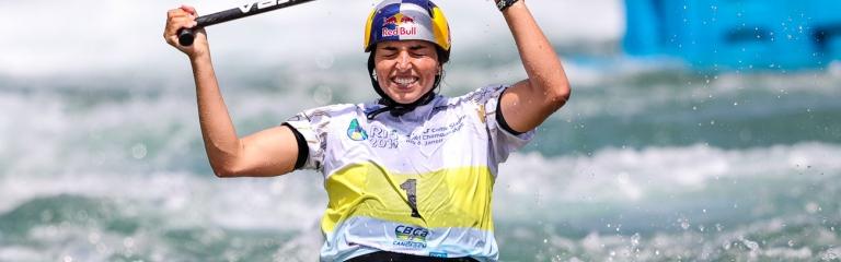 Australia Jessica Fox C1 Rio World Championships 2018