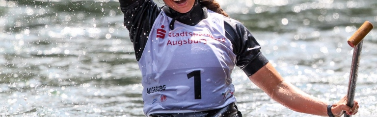 Australia Jessica Fox Augsburg C1 gold
