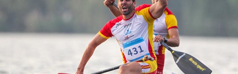 Spain Diego Romero canoe marathon Shaoxing 2019