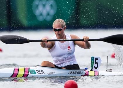 Denmark Emma Jorgensen K1 200 Tokyo Olympics