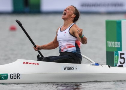 Great Britain Emma Wiggs Paralympics Tokyo