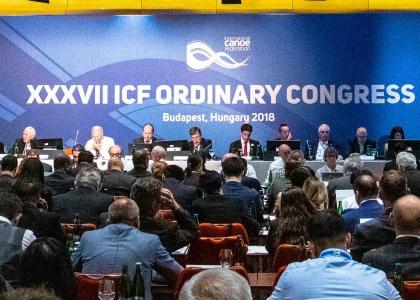 2018 ICF congress Budapest