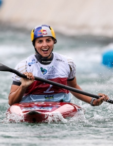 Jessica Fox K1 gold world championship Rio 2018