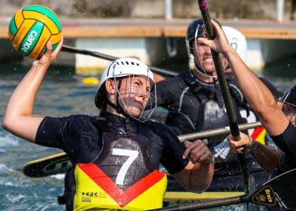2018 ICF Canoe Polo World Championships Welland Canada Leonie Wagner
