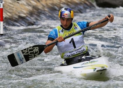 Australia Jessica Fox C1 slalom world cup La Seu 2021