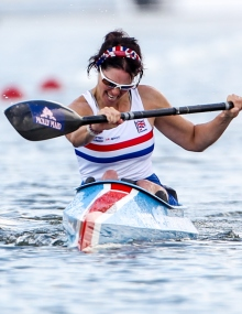 Janette chippington (GBR) Paracanoe
