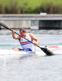 British Paracanoe Tim Lodge