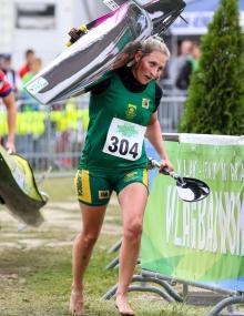 Janna Ward (RSA) Canoe Marathon