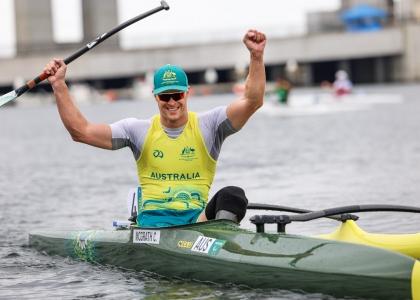 Australia Curtis McGrath VL3 Tokyo Paralympics