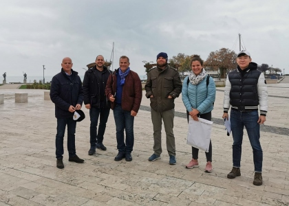 SUP Hungary Balatonfured site visit 2020