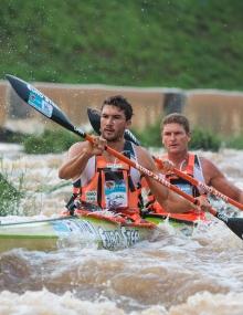 South Africa Andy Birkett Hank McGregor Dusi Marathon