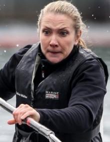 Edina Muller (GER) KL1W 200m