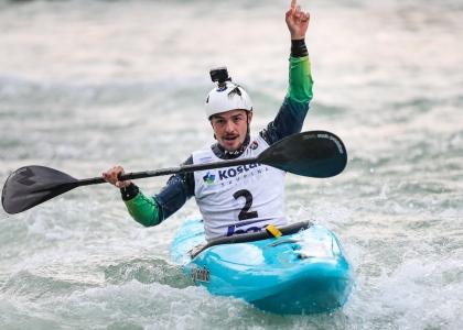 Brazil Pedro Goncalves extreme slalom Tacen 2020