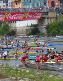 Canoe Marathon Sella Descent