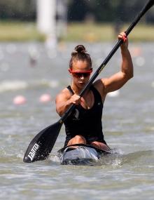 New Zealand Lisa Carrington K1 500
