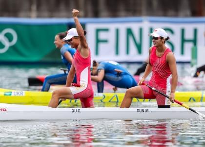 China women C2 Xu Sun Tokyo Olympics