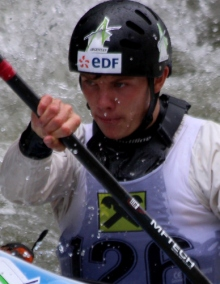 Cyprien Leriche (FRA) Wildwater Canoeing Europe
