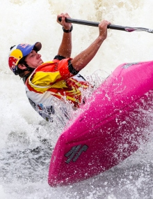 USA Dane Jackson freestyle kayak world championships