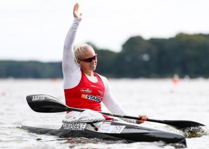 Denmark Emma Jorgensen K1 200 Copenhagen 2021 canoe sprint
