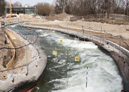 Renovations Augsburg canoe slalom 2021