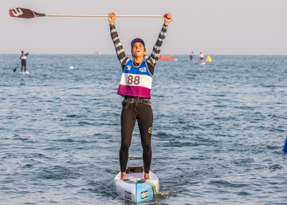 France Olivia Piana stand up paddle world championships Qingdao 2019 SUP