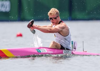 Germany Jacob Schopf K1 1000 Tokyo Olympics