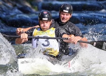 Slovakia Hochschorner C2 wildwater La Seu 2019