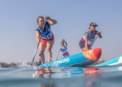 Stand up paddle Fiona Wylde Starboard