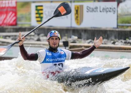 2021 ICF Canoe Slalom World Cup Markkleeberg Jakub GRIGAR Slovakia