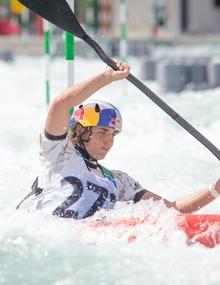 Jess Fox  (AUS) K1W in New Zealand
