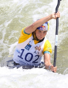 Jessica Fox K1 Penrith Australia