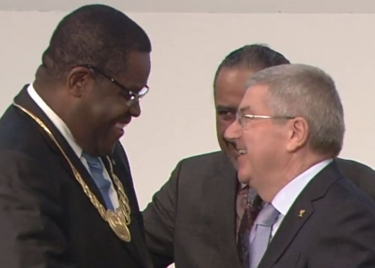 Joao Costa Alegre Sao Tome and Principe ANOC award 2018