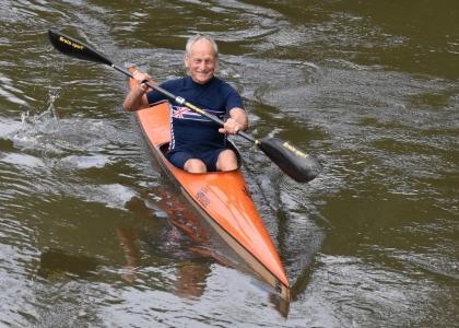 John MacLeod paddle challenge