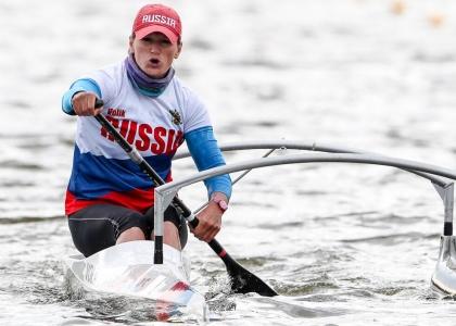 Russia Larisa Volik VL3 paracanoe Poznan