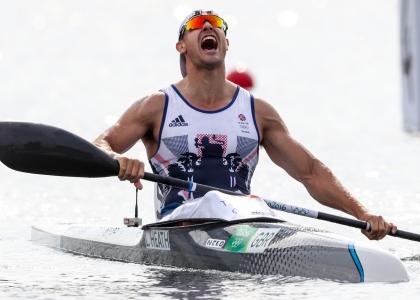 Liam Heath Great Britain K1 200 Olympic gold medallist