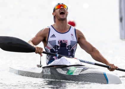 Liam Heath Great Britain K1 200 Olympic gold medallist