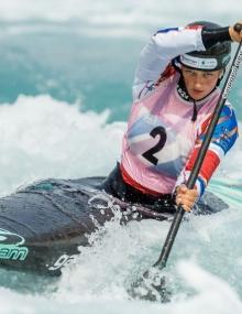 canoe slalom mallory franklin