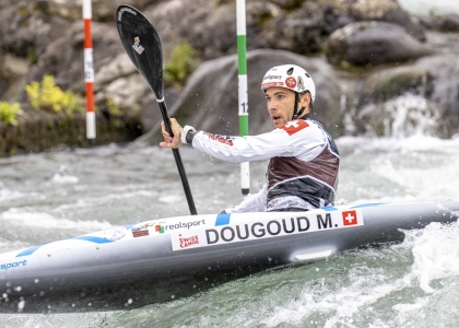 Switzerland Martin Dougoud men K1 Pau 2020