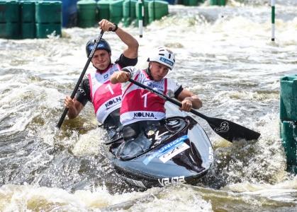 Czech Matulkova Mruzak mixed C2 u23 world championships Krakow 2019