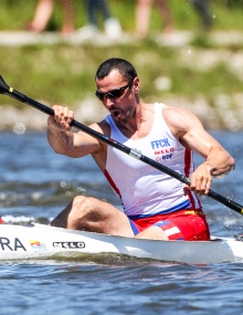 Maxime Beaumont French sprint canoe