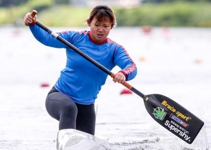 Hong Kong Ming Yu Law Duisburg 2019 canoe