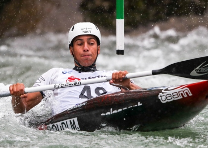 Morocco Mathis Soudi canoe slalom