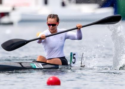 New Zealand Lisa Carrington K1 200 Tokyo Olympics