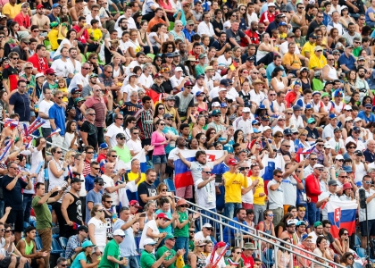 Olympic crowd