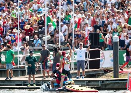 Portugal Fernando Pimenta canoe sprint Montemor 2018