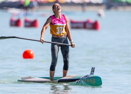 Russia Elena Prokhorova SUP 2021 Balaton worold championships