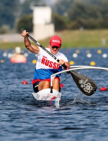 Russia Larisa Volik paracanoe world championships 2018