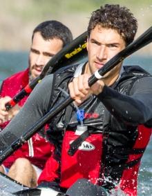 Andy Birkett (RAS) Canoe Marathon