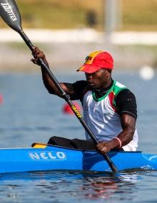 Senegal Mamadou Diallo canoe sprint