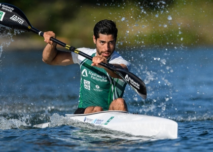 Refugee athlete Saeid Fazloula